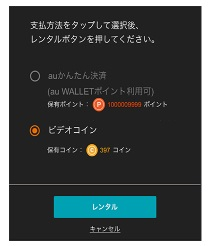 ビデオパス safari版 レンタル ログイン iPhone