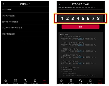 dtv テレビで見る方法 設定 iphone